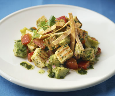 New World Chopped Chicken Salad from Cooking with the Blues by Sharon O'Connor