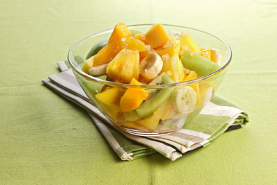 Calypso Fruit Salad from Pleasures of the Carribean by Sharon O'Connor