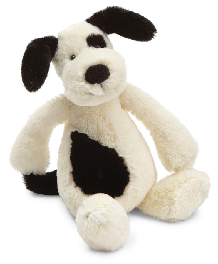 Bashful Spotted Puppy Stuffed Animal