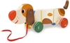 Basile the Dog Pull Toy