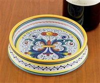 Wine Coaster from Deruta, Italy