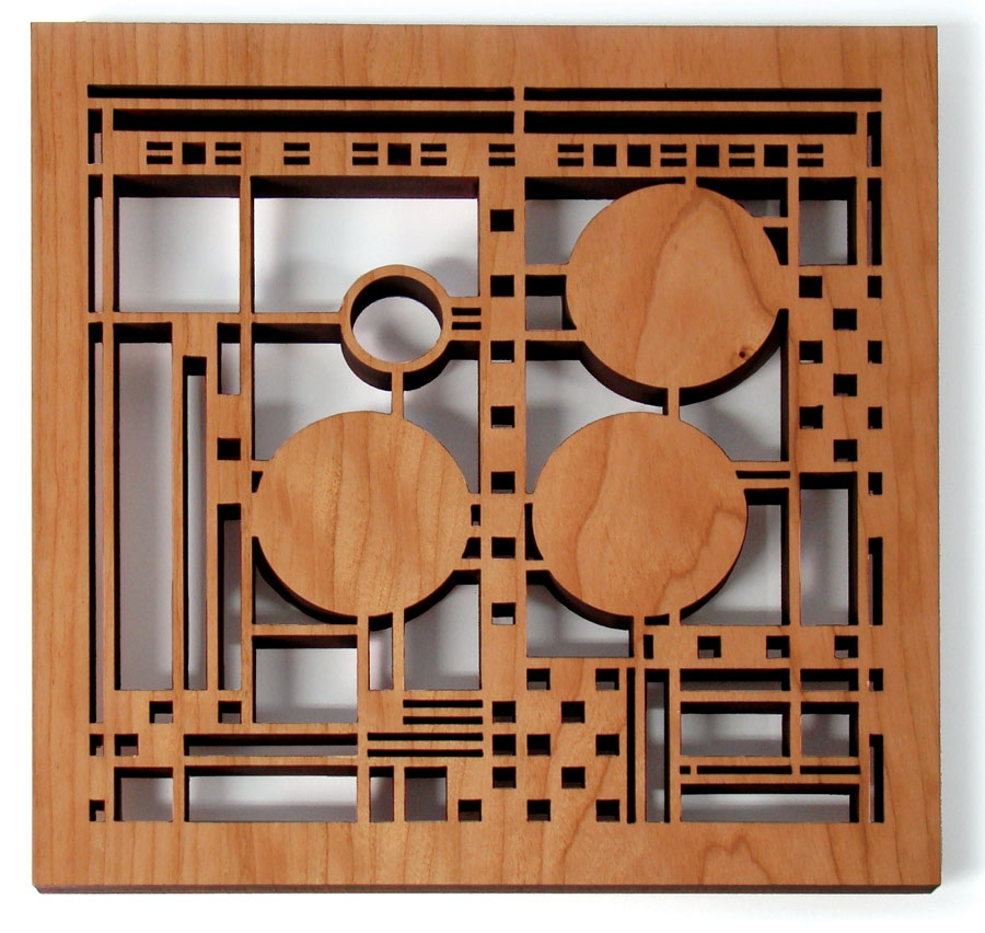 coonley trivet frank lloyd wright design. Black Bedroom Furniture Sets. Home Design Ideas