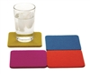Bierfilzl Square Merino Wool Felt Coasters - Set of 4