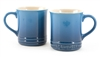 Le Creuset Set of two Mugs in Marseille Blue