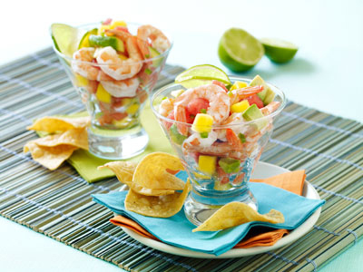 Shrimp Salsa from Salsa! by Sharon O'Connor