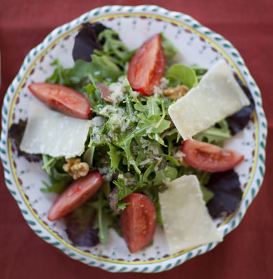 Catherine de' Medici Salad from A Villa in Tuscany by Sharon O'Connor