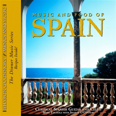 Music and Food of Spain CD