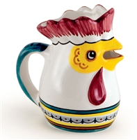 Deruta  Rooster Pitcher