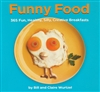 Funny Food Book with Blue Cover