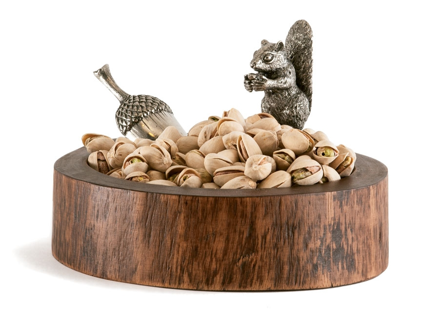 Squirrel Nut Bowl With Acorn Scoop