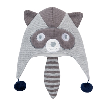 Raccoon Aviator Hat