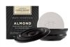 Almond Shave Soap in Wooden Bowl