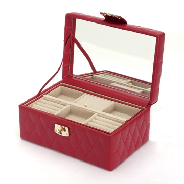 Jewelry Box in Red