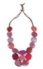 Red/Pink Gemma Necklace