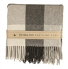ECO WISE WOOL FRINGED THROW