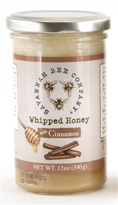Savannah Bee Whipped Honey W/ Cinnamon