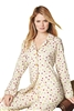 Womens Holiday Dot Classic Pajama Set