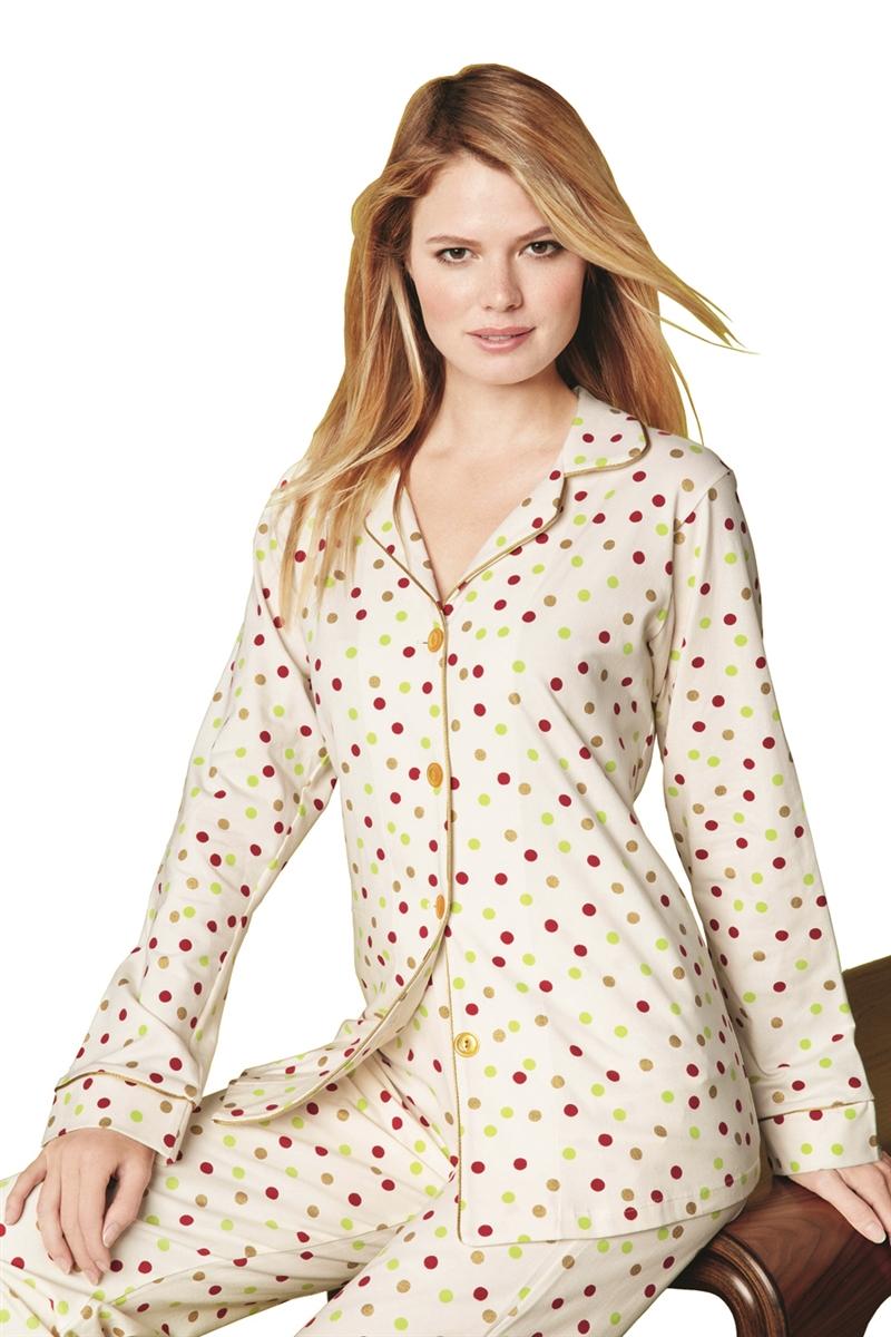 Womens Dot Pajama