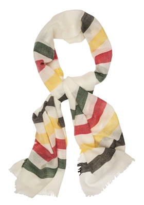 Stripe Featherweight Wool Scarf by Pendleton