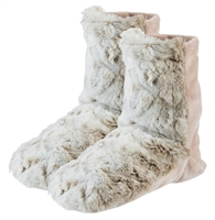 Furry Spa Booties - Lavender Scent