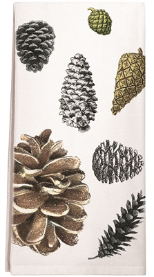 Pinecones Towel