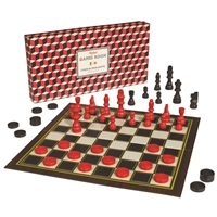 Ridley's Chess & Checker Two Games in One Box