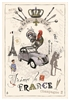French Picnic Kitchen Towel