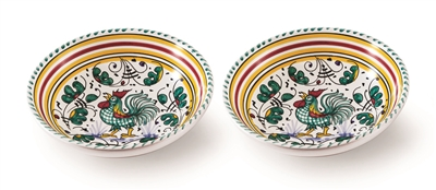 "Deruta 8"" Bowl - Gallo Verde"