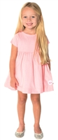 Girl's Dress - Pink Corduroy