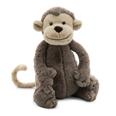 Bashful Monkey Medium by Jellycat