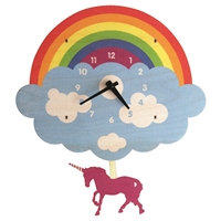 Unicorn Pendulum Clock