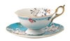Wedgwood Cup And Saucer - Wonderlust Apple Blossom