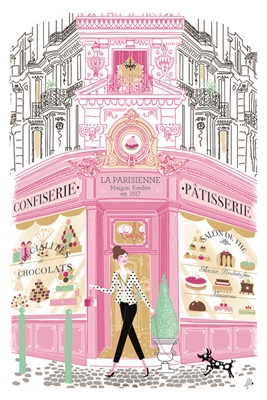 Patisserie French Kitchen Towel