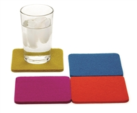 Merino Wool Felt Coasters - Assorted