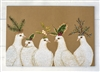 Peaceful Doves Paper Placemats