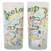 Drinking Glasses Ireland 15oz (Set of Two)