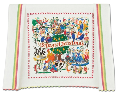 12 Days of Christmas Towel