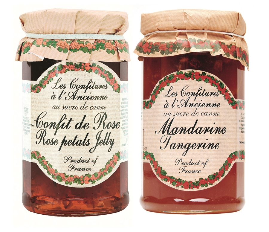 Rose Petal And Tangerine Old Fashioned French Jam