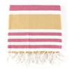 Turkish Towel - Pink/Tan
