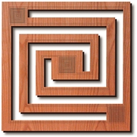 Whirling Arrow Trivet - Frank Lloyd Wright