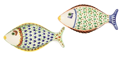 Set of Two Small Fish Platters