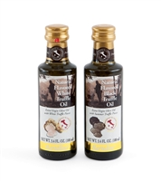 Pair of Black and White Truffle Oil