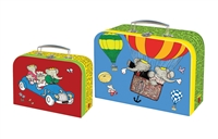 Set of Two Babar Suitcases