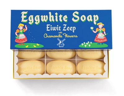box of Eggwhite Soap bars
