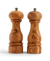 "Olive Wood 6.5"" Salt/Pepper Mills"