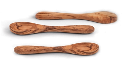 "Olive Wood 5"" Spoons"
