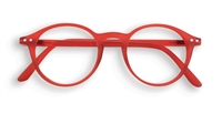 Red Izipizi Reading Glasses - 2.5 magnification