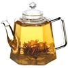 Vienna Glass Teapot and Infuser by Grosche
