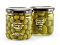 set of two spanish olives