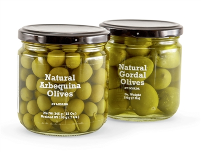 Gourmet Spanish green olives